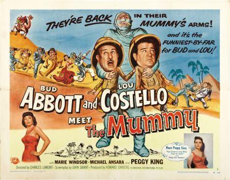 Abbott and Costello Meet the Mummy Dark Lord Robs Terrortorium Abbott and Costello Meet the Mummy 1955