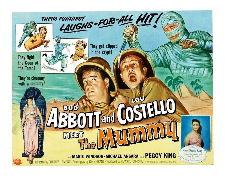 Abbott and Costello Meet the Mummy Abbott and Costello Meet the Mummy USA 1955 updated with Blu