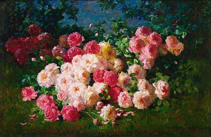 Image result for still life of roses by Abbott Fuller Graves Carrelage Mural Cuisine Salle De Bains Mur Bac