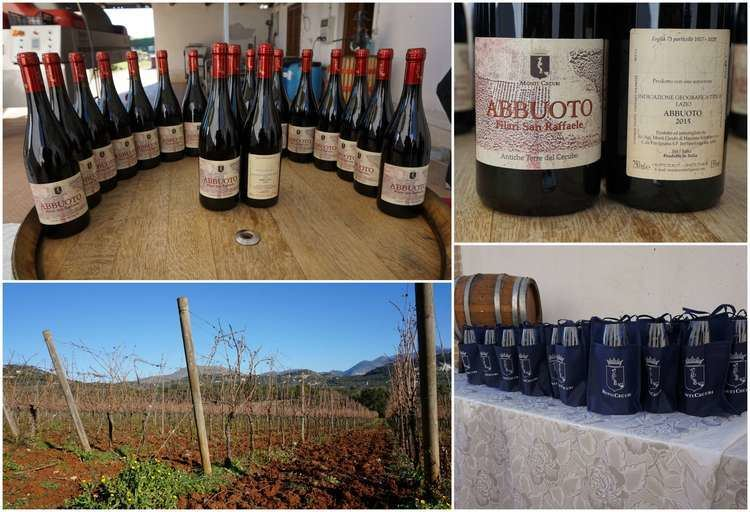 Abbuoto Monti Cecubi Winery the Myth that reinvents itself with a