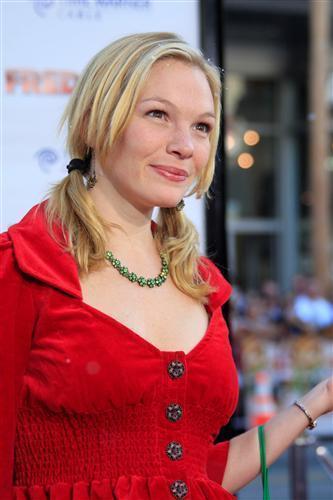 Abby Brammell The Unit Abby BrammellquotFred Clausquot LA Premiereat Grauman