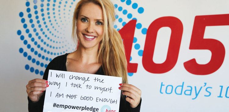 Abby Coleman Behind the B105 SelfEsteem Team Empower Pledges Style Magazines