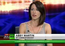 Abby Martin Abby Martin Wikipedia the free encyclopedia
