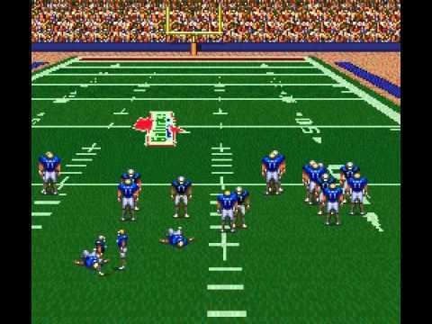 ABC Monday Night Football (video game) ABC Monday Night Football SNES YouTube