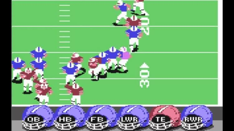ABC Monday Night Football (video game) ABC Monday Night Football on C64 YouTube