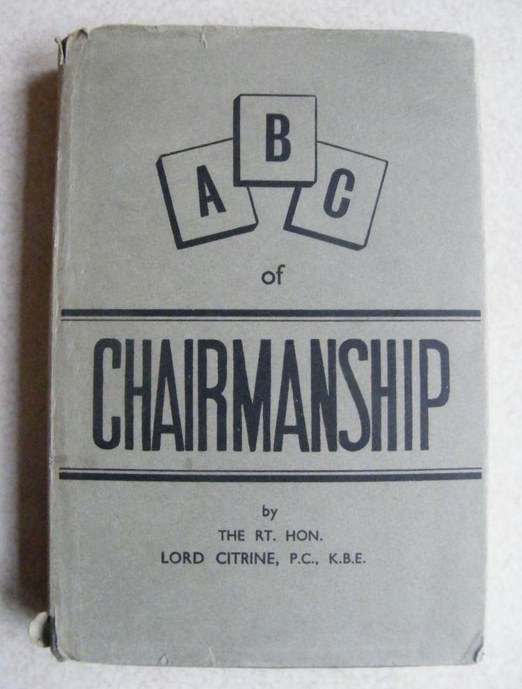 ABC of Chairmanship