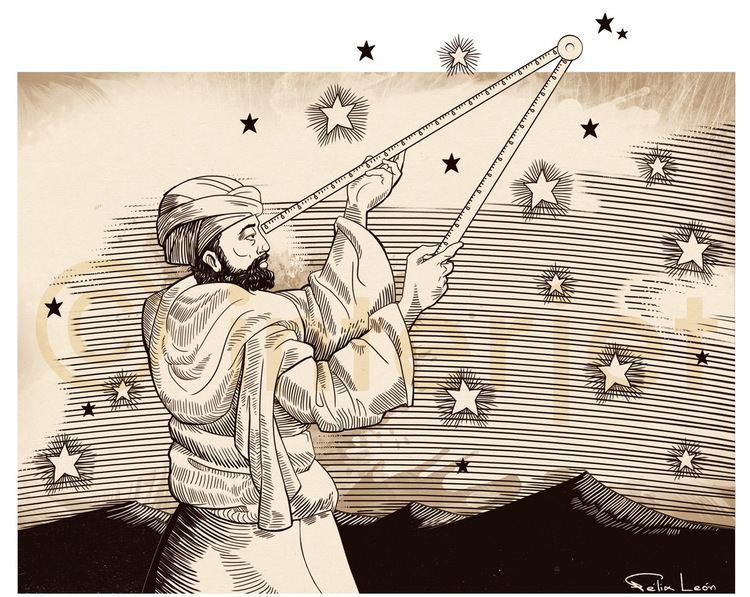 Abd al-Rahman al-Sufi Flix Len ILUSTRADOR