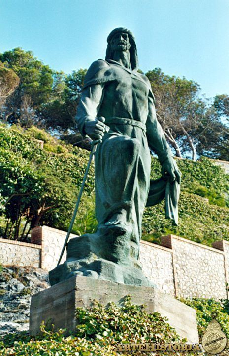Abd Al Rahman I Estatua De AbdalRahman Almucar Granada Obra