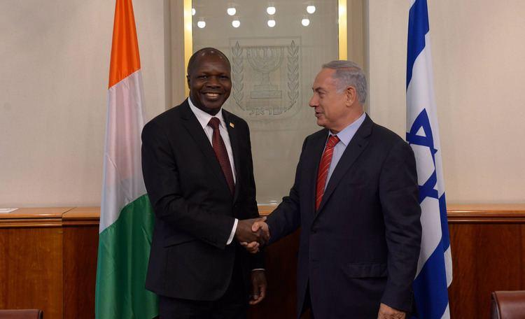 Abdallah Albert PM Netanyahu Meets Abdallah Albert Toikeusse Mabri FM of C Flickr