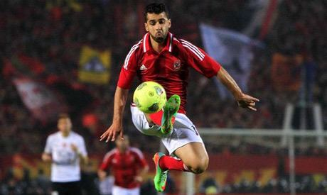 Abdallah Said Injury to sideline key Ahly player Abdallah ElSaid for a month
