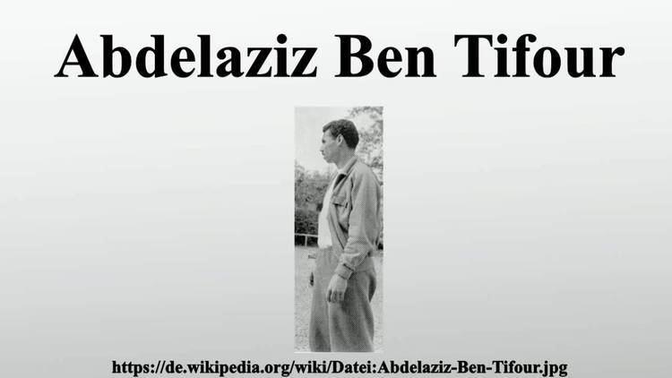 Abdelaziz Ben Tifour Abdelaziz Ben Tifour YouTube