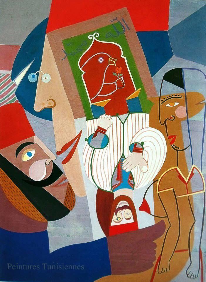 Abdelaziz Gorgi gorgi abdelaziz tunisie peintres Pinterest