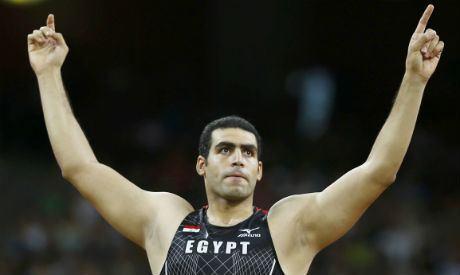 Abdelrahman El-Sayed Egypt39s javelin thrower AbdelRahman 39super crazy happy
