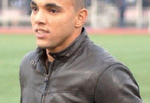 Abderahmane Hachoud Victime d39un accidentNeuf points de suture pour Hachoud