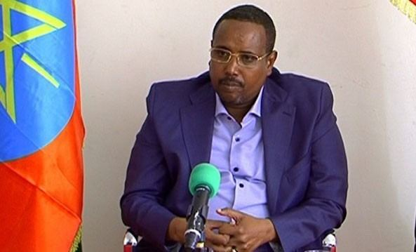 Abdi Mohamoud Omar Protester Lambasts Ogaden Regional State President Abdi Iley in His