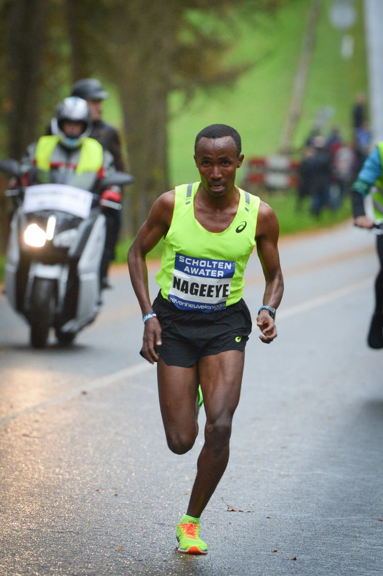 Abdi Nageeye Abdi Nageeye kiest op z39n weg naar Rio voor de Boston Marathon
