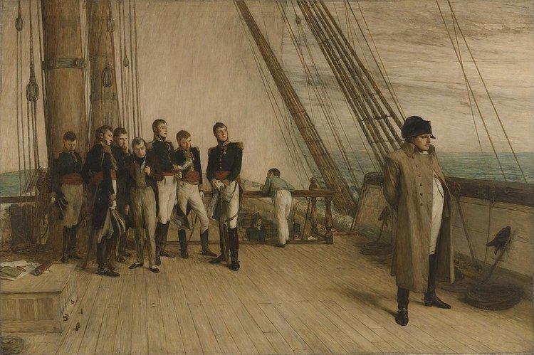 Abdication of Napoleon, 1815