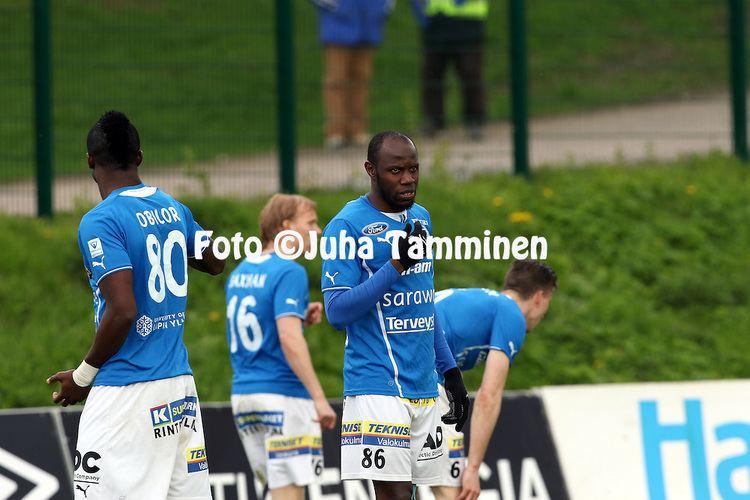 Abdou Jammeh FC Lahti RoPS Juha Tamminen