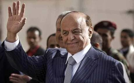 Abdrabbuh Mansur Hadi Former Yemen president flees capital after release from house arrest