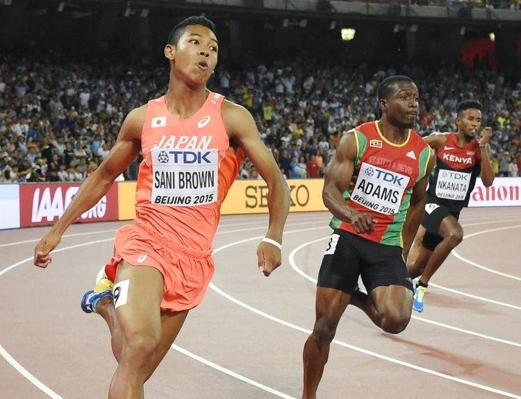 Abdul Hakim Sani Brown Fatigued Bolt Gatlin sail into 200meter semifinals Sani