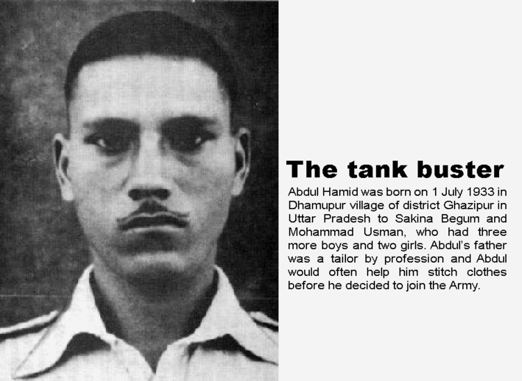 Abdul Hamid (soldier) Bravest of Brave Indian Soldier Abdul Hamid PVC Param