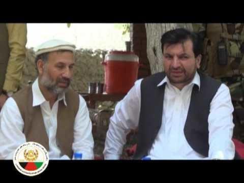 Abdul Jabbar Naeemi Abdul jabbar naeemi trip to Nangrahar province Kama DC 1395 YouTube