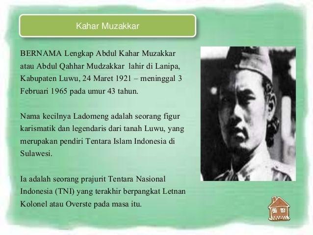 Abdul Kahar Muzakkar gerakan kahar muzakkarcitra nanik xiimia2smanegeri1kejayanpasuruan