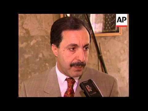 Abdul Karim Al-Kabariti JORDAN MINISTER OF FOREIGN AFFAIRS DR ABDUL KARIM ALKABARITI YouTube
