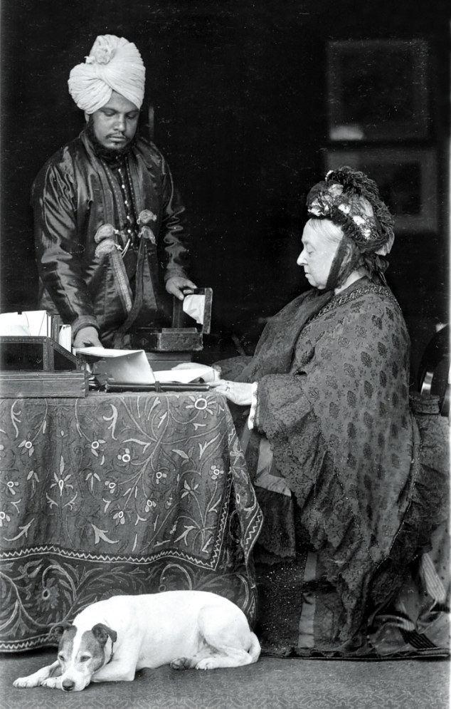 Abdul Karim (the Munshi) Queen Victoria and Abdul Karim After John Brown39s death