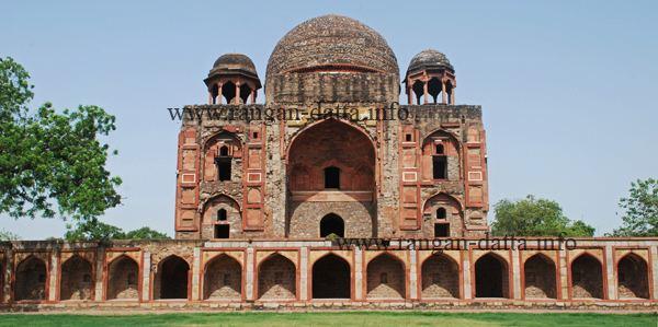 Abdul Rahim Khan-I-Khana Abdul Rahim Khan i Khanans Tomb Delhi Rangan Datta