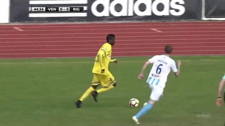 Abdul Rashid Obuobi Abdul Rashid Obuobi FK Ventspils 20162017 YouTube