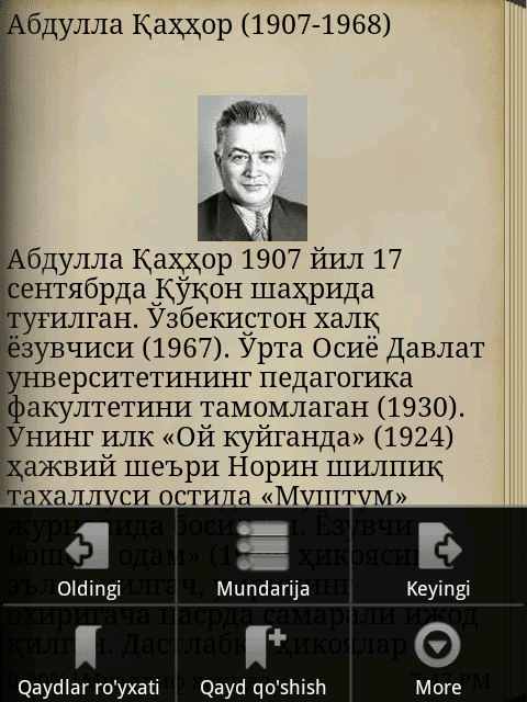 Abdulla Qahhor Abdulla Qahhor hikoyalari Android Apps on Google Play