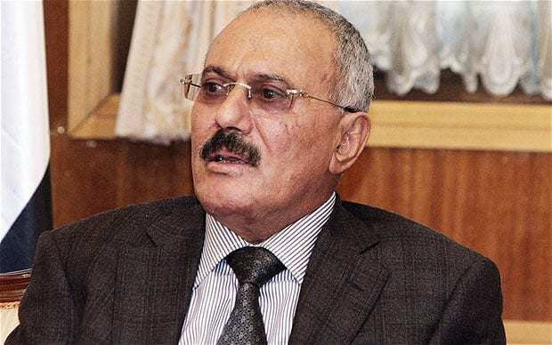 Abdulla Saleh Yemen39s Ali Abdullah Saleh 39flies to US39 Telegraph