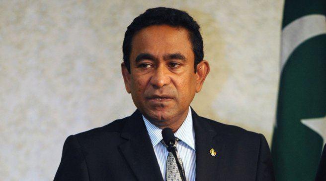 Abdulla Yameen HaveeruOnline Pres Yameen reiterates Maldives39 support