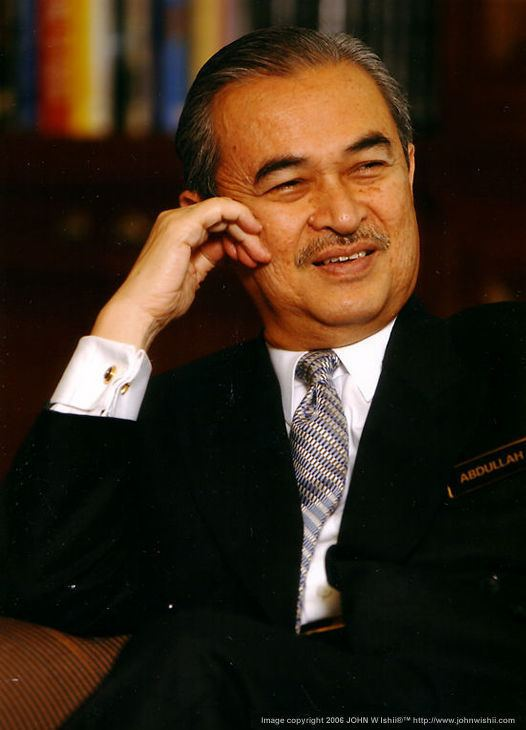 Abdullah Ahmad Badawi Prime Ministers of Malaysia by Denish Audrey Emily