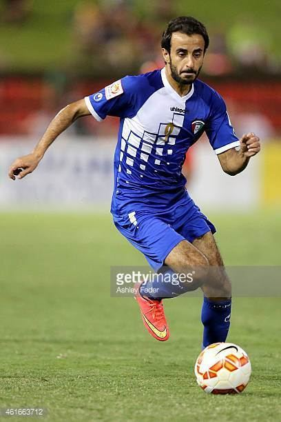 Abdullah Al Buraiki Abdullah Al Buraiki of Kuwait controls the ball during the 2015