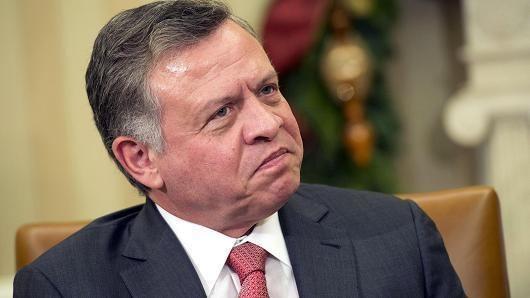 Abdullah II of Jordan Jordan is still a safe investment destination King