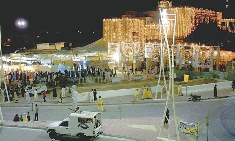 Abdullah Shah Ghazi Abdullah Shah Ghazi39s urs celebrations begin Pakistan DAWNCOM