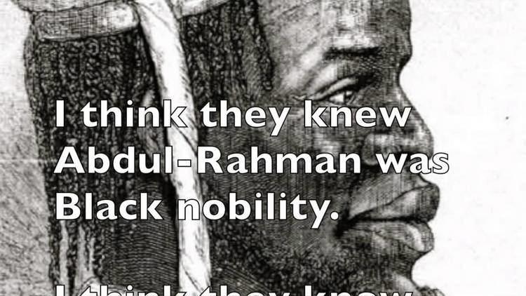Abdulrahman Ibrahim Ibn Sori A Prince And A Slave AbdulRahman YouTube