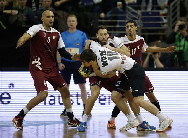 Abdulrazzaq Murad Abdulrazzaq Murad Photos Photos Germany v Qatar Handball