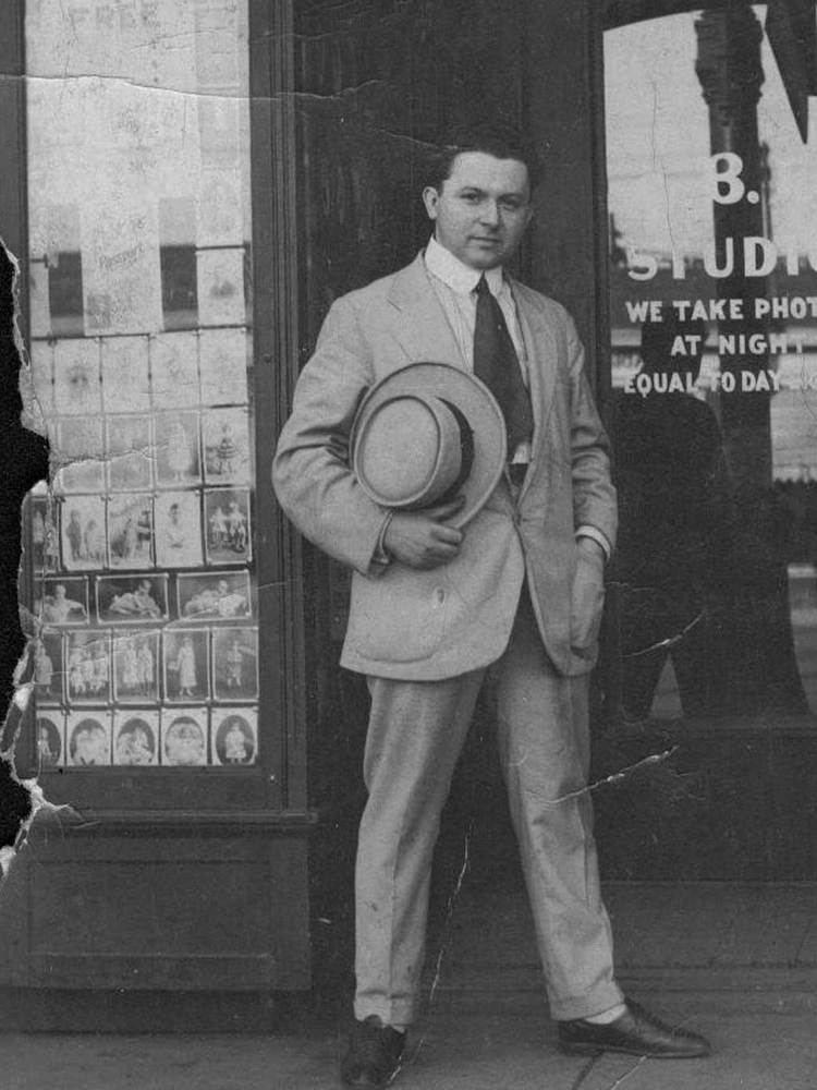 Abe Bernstein Abe Bernstein leader of the Purple Gang 1930s Gangsters