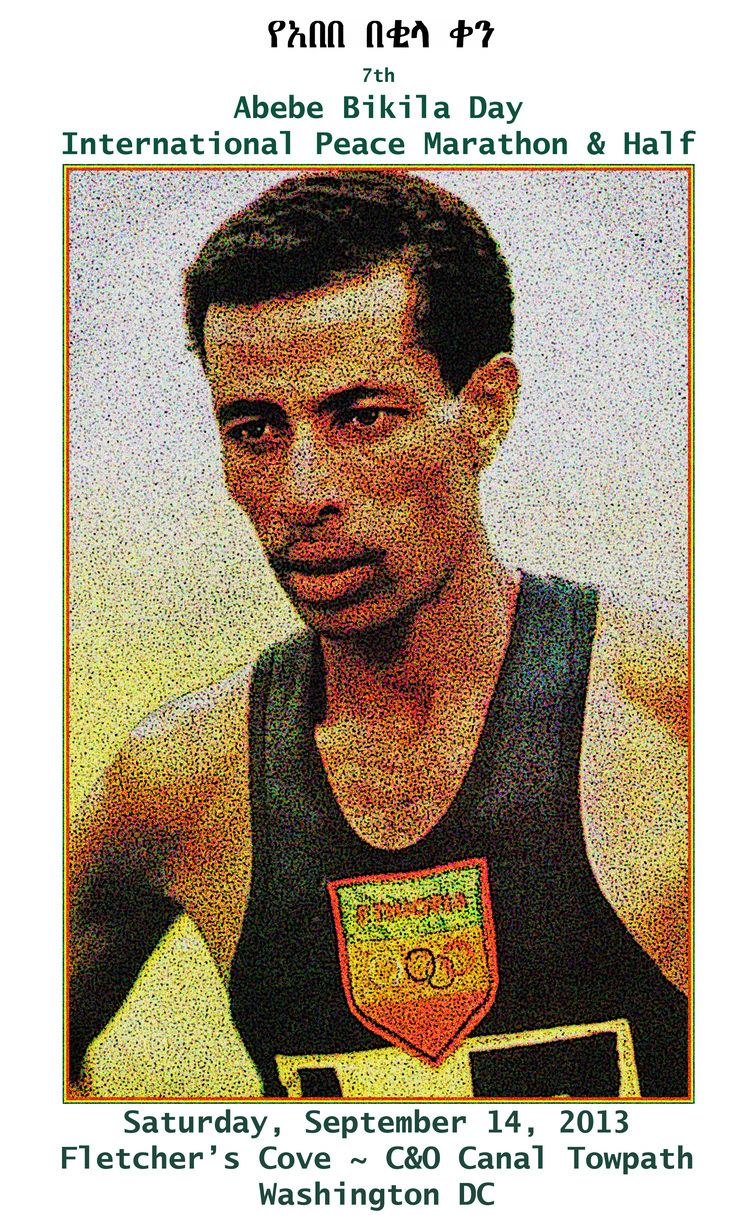 Abebe Bikila Abebe Bikila DayltBRgtInternational Peace Marathon amp Half