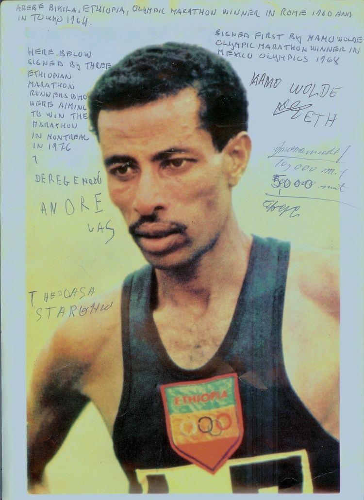 Abebe Bikila Onni Niskanen and Abebe Bikila Onni Niskanen 1910 1984