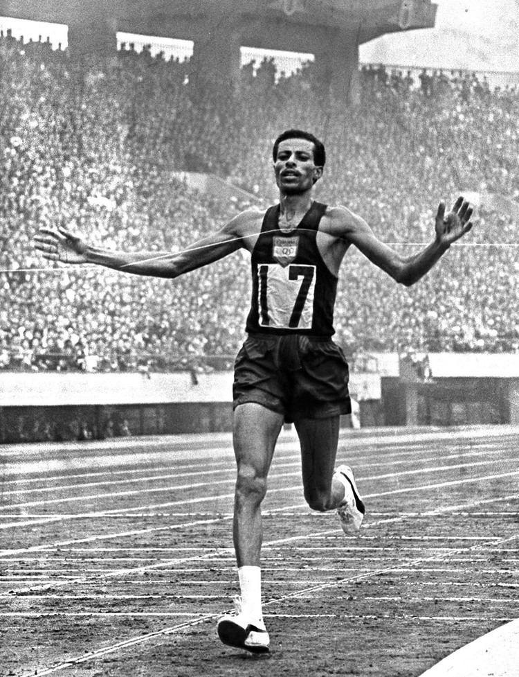 Abebe Bikila 1964 Tokyo Games marathon winner Bikila 39acted39 for film