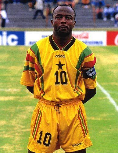 Abedi (footballer) QampA Ghana football legend Abedi Pele talks about his kids