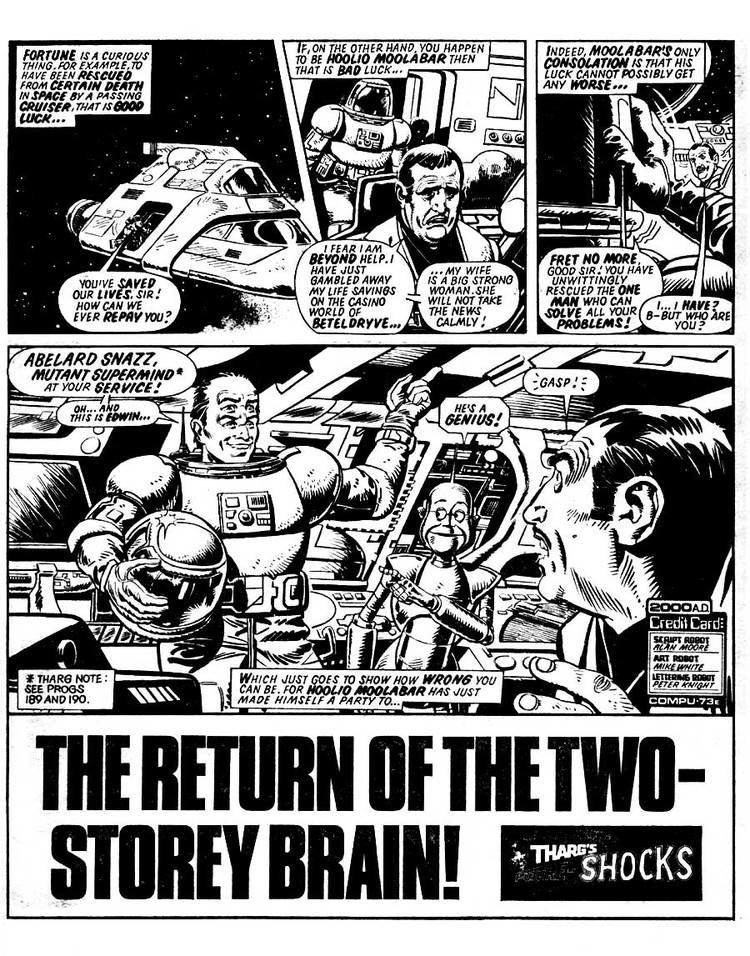 Abelard Snazz British Comic Art Abelard Snazz