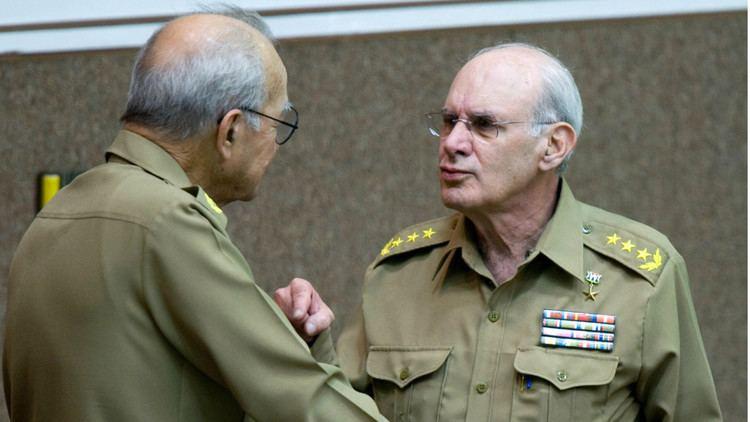 Abelardo Colomé Ibarra El general Abelardo Colom Ibarra ministro del Interior de Cuba