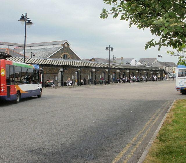 Aberdare bus station