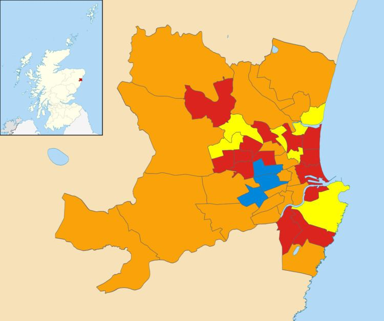 Aberdeen City Council election, 2003