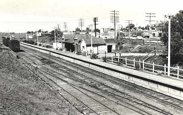 Aberdeen railway station, New South Wales